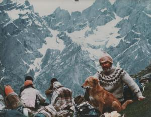 To Zanskar 1986 (resting with the porters) 001