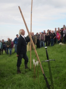 Sept 9th 2013. 500 years to the hour, historian Clive Hallam-Baker describes the weapons.