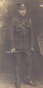 CW Nicholson RFA 1914